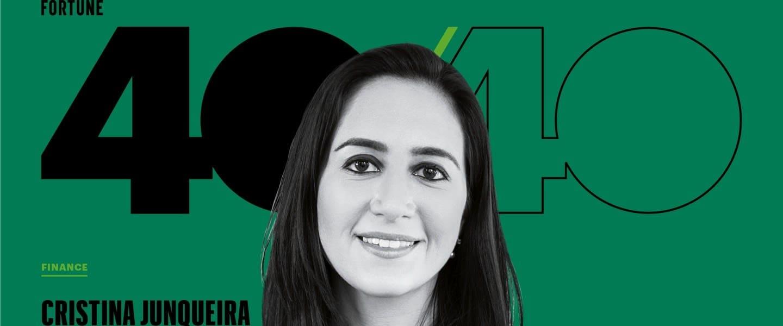 Cristina Junqueira en en la lista Fortune 40 Under 40