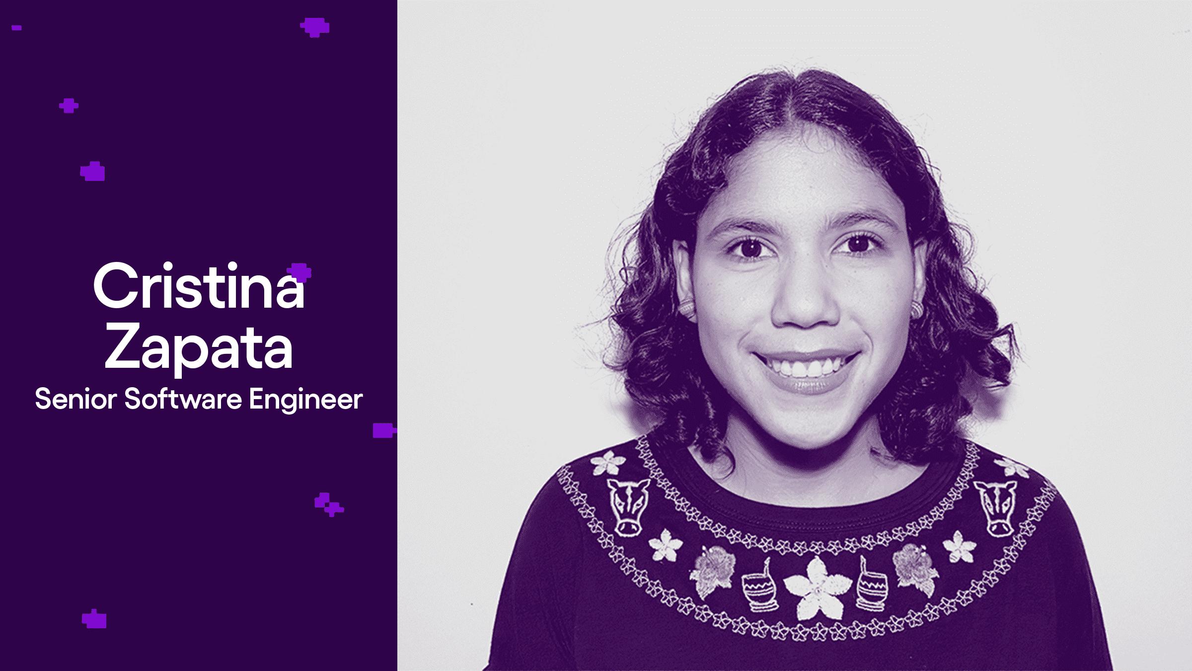 Cristina Zapata Ingeniera de Software en Nu México